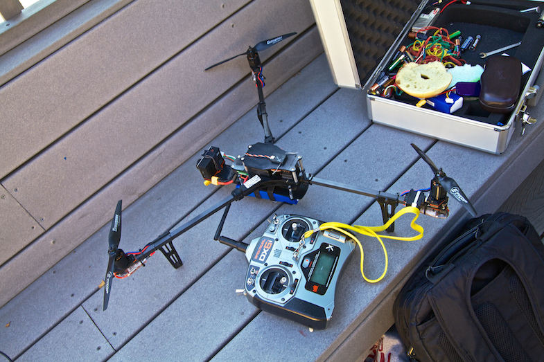 Drone-hobby-tricopter