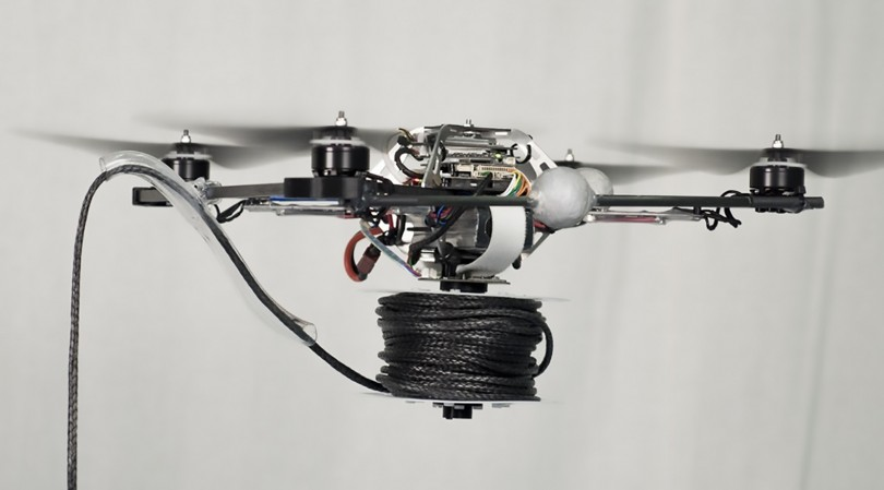 Drones rope