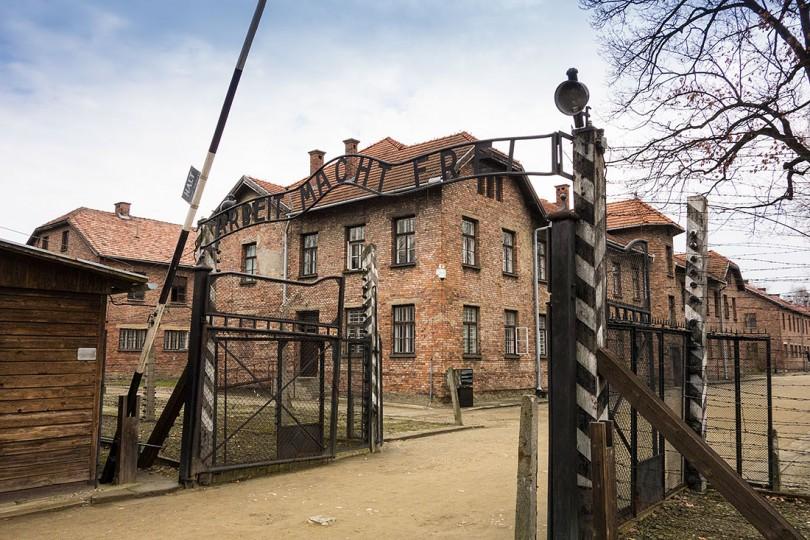 Auschwitz: bbc drones