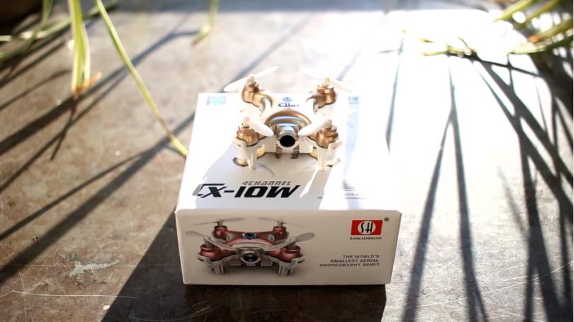 """""""Cheerson CX-10W: the world's smallest FPV drone"""""""